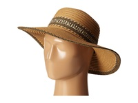 San Diego Hat Company Ubl6480 Ultrabraid Sunbrim W Pattern Band Camel Caps Tan