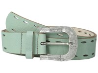 Leather Rock 1618 Lugano Mint Women's Belts Green