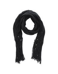 Pepe Jeans Accessories Oblong Scarves Women Black