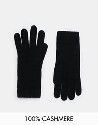 Johnstons Cashmere Gloves Black