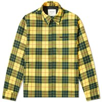 Noon Goons Singled Out Check Jacket Yellow