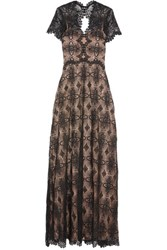 Catherine Deane Gizela Guipure Lace Gown Black