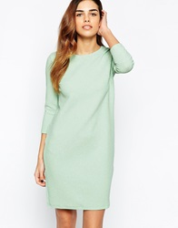 Vero Moda High Neck Long Sleeve Bodycon Dress Bleachedaqua