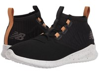 New Balance Cypher Black Veg Tan Leather Running Shoes