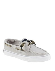 Sperry Bahama Washed Loafers Grey