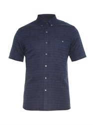 Patrik Ervell Broken Stripe Cotton Blend Shirt