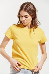 Urban Outfitters Uo Little Brother Tee Yellow