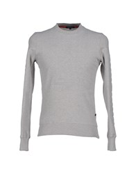 Surface To Air Topwear Sweatshirts Men Light Grey
