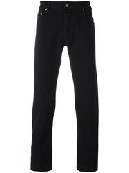 Jacob Cohen Straight Leg Jeans Black