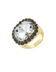 Bcbgeneration Faceted Stone Cocktail Ring