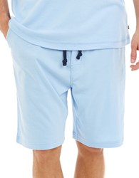 Nautica Lounge Knit Shorts Blue