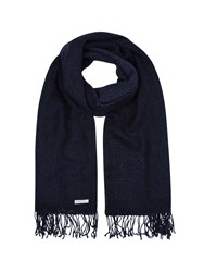 Eastex Navy Ombre Scarf
