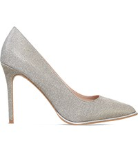 Kg By Kurt Geiger Beauty Metallic Courts Silver