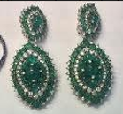 Nam Cho Convertible Riviera Earrings Green