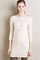Moth Brette Ribbed Tunic Nude