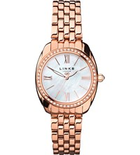 Links Of London 6010.1311 Bloomsbury Rose Gold Plated Watch