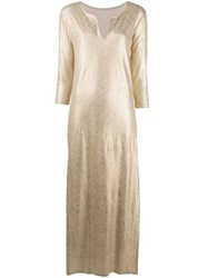 Majestic Filatures Metallic Maxi Dress 60