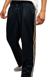 Topman Stripe Jogger Pants Navy Multi