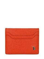 Tod's Embossed Leather Card Holder