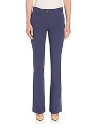 Peserico Four Way Stretch Flared Pants Navy