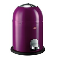 Wesco Single Master Bathroom Bin Purple