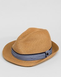 948d4a19a0043 Ted Baker Frise Summer Trilby Hat Beige