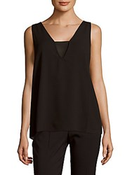 Cooper And Ella Maya Sleeveless Pullover Top Black