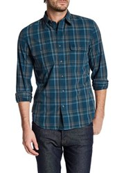 Timberland Long Sleeve Slim Fit Check Shirt Blue