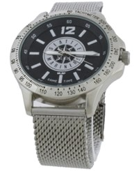 Game Time Seattle Mariners Cage Series Watch Silver Black