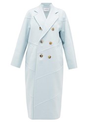 Max Mara Stagno Coat Light Blue