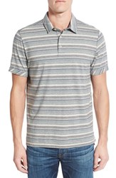 Jeremiah Men's 'End On End' Cotton Jersey Polo Elephant Heather