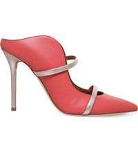 Malone Souliers Maureen Leather Sandals Salmon