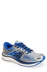 Men's Brooks 'Glycerin 13' Running Shoe Silver Electric Brooks Black