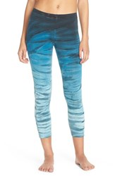Women's Hard Tail Tie Dye Crop Leggings