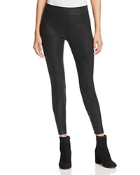 Three Dots Seamed Leggings Onyx