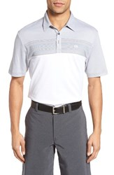 Travis Mathew Men's Mandy Trim Fit Wrinkle Resistant Polo