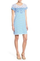 Women's Vineyard Vines Stripe Pima Cotton T Shirt Dress