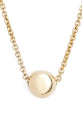 Bony Levy Women's Ball Pendant Necklace Nordstrom Exclusive Yellow Gold