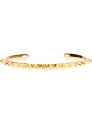 Tom Binns Pyramid Stud Bangle Metallic