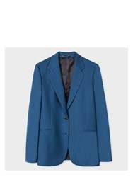 Paul Smith A Suit To Travel In Women's Petrol Blue Two Button Wool Blazer