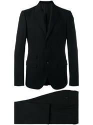 Gucci Embroidered Suit Black