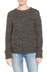 Women's Leith Chunky Marled Pullover Olive Sarma Marl