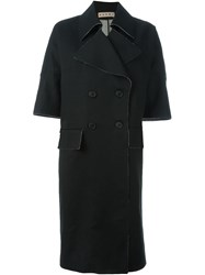 Marni Half Sleeve Coat Black