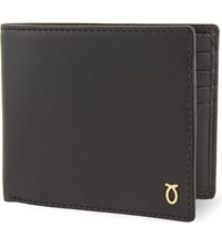 Launer Leather Billfold Wallet Black