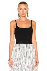 J.W.Anderson J.W. Anderson Shaping Detail Cami Tank Top In Black