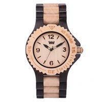 Wewood Kale Watch Black Beige
