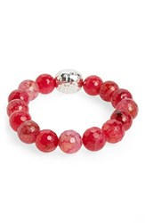 Women's Simon Sebbag Stretch Bracelet Red Fire Agate Nordstrom Exclusive