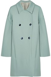 Jonathan Saunders Giuliana Wool Coat Blue