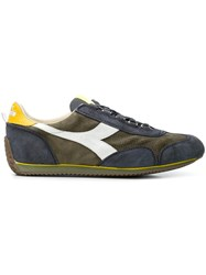 Diadora Colour Block Sneakers Green