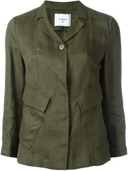 Dondup Flap Pocket Jacket Green